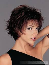 hair styles for layered thick hair over 40 best short hairstyle for women over 40 sexy layered razor cut in