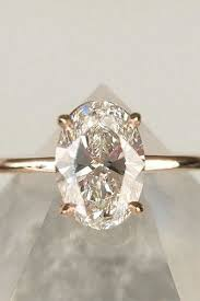 oval wedding rings best 25 oval solitaire engagement ring ideas on oval
