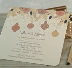 Christmas Wedding Invitations Christmas Winter Wedding Invitations By Beautiful Day
