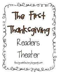 the thanksgiving readers theater by grade factory tpt