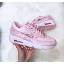light pink nike air max nike air max 90 prism pink white customized with light pink