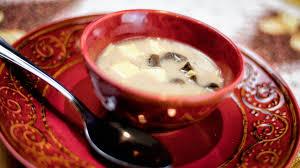 polish christmas mushroom soup swiateczna zupa grzybowa
