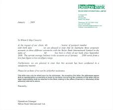 Recommendation Letters Template by Bank Reference Letter Template Mughals