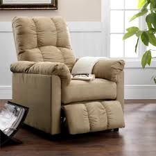 Dorel Rocking Chair Slipcover Dorel Living Dorel Living Slim Recliner Beige
