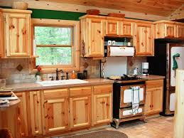 natural pine kitchen cabinets u2014 jen u0026 joes design best rustic