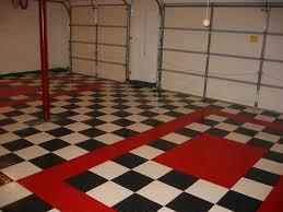 garage floor designs floor design red and white checkered race deck garage floor