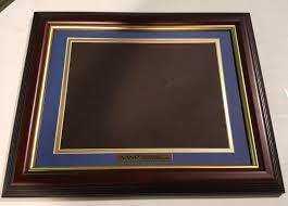certificate frame matted certificate frame