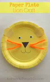 Paper Plate Craft Ideas For Kids Easy To Make A Lion Paper Plate Craft For Kids Paper Plate Crafts