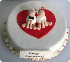 Snooky Doodle Cakes Wedding Anniversary Cake