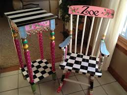 painted chairs images best 25 childs rocking chair ideas on pinterest purple