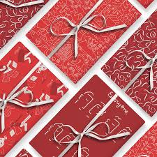 unique wrapping paper artists design gift wrap to fight aids craveonline