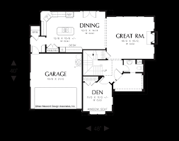 perfect floor plan mascord house plan 22155 the gaylord