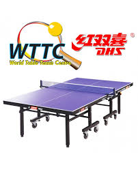 Dhs Table Tennis by Double Happiness T1223 Table Tennis Table World Table Tennis