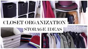 Closet Organizers Ideas Affordable Closet Organization Ideas And Storage My Closet Tour