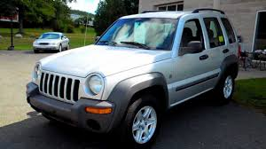 2004 jeep liberty sport 4wd 4dr suv 3 7l v6 at youtube