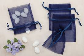 organza favor bags navy sheer organza party favor bags from nuts in bulk organza