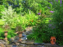 interesting hill backyard landscaping ideas garden hill