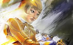 trini yellow power ranger sopeh deviantart