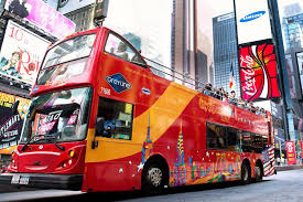 Bus Map Nyc New York City Hop On Hop Off Tours All Around Town Double Decker