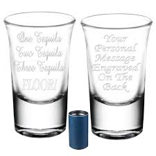 birthday tequila personalised novelty shot glass engraved gift sparkle gifts