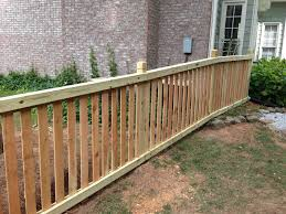picket fences capped picket fences accent fence