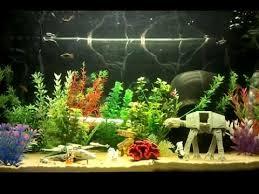 wars aquarium decor iron