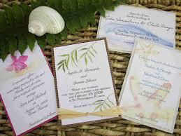 tropical beach wedding invitations beach themed wedding