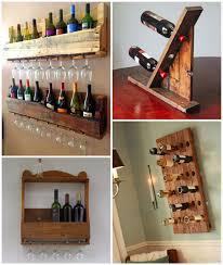 wine racks made from recycled pallet wood diy rack wine rack