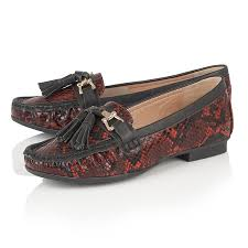 bhs womens boots sale lotus chalina snake print loafers s shoes lotus shoes