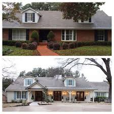 Before And Afters Clients Paint by Best 25 Brick Exterior Makeover Ideas On Pinterest Painting