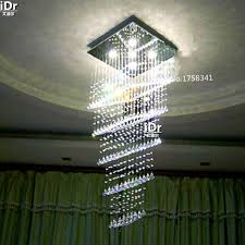 High Quality Chandeliers Led Chandelier Modern Penthouse Floor Luxury Square