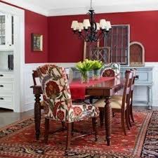 Red Fabric Chair Foter - Red dining room chairs