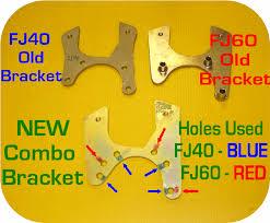 toyota land cruiser cer conversion rear disc brake brackets toyota land cruiser fj40 fj45 fj55 fj60