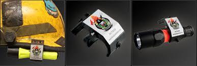 streamlight firefighter helmet light blackjack bj005 helmet mount flashlight holder easy on off model