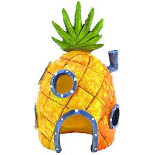 spongebob spongebob pineapple house ornament aquarium character