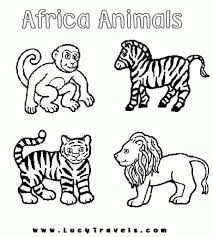 the most incredible safari animals coloring pages pertaining to