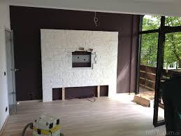 Hifi Wohnzimmer Design Wohnzimmer Modern Steinwand Alle Ideen Für Ihr Haus Design Und
