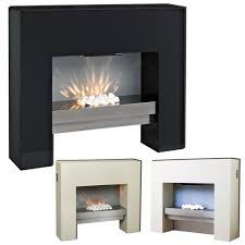 modern fireplace simple design with silver fireplace black