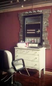 rustic hair salon pictures rustic salon station decor