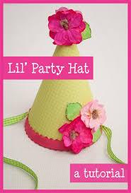 tutorial lil u0027 party hat piggy bank parties blog