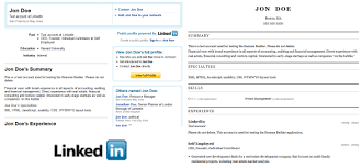 Resume Online by How To Convert Your Linkedin Profile To A Resume Online Easily