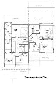 triplex house plans clearwater site and house plans clearwater commons