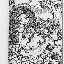 free hannah lynn coloring page hannahlynn com cocoa fairy