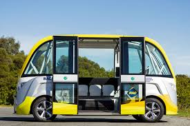 lexus rc f perth australia u0027s 1st on road driverless shuttle bus has today started