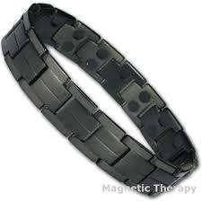 black titanium bracelet images Booster black titanium magnetic therapy bracelet 32 magnets jpg
