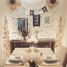 New Year S Eve Dinner Decoration by New Years Eve Dinner Table Decor My Holiday Decor Pinterest