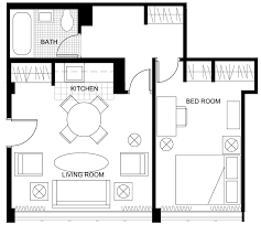 Apartment Blueprints Living Room Floor Plans 3383