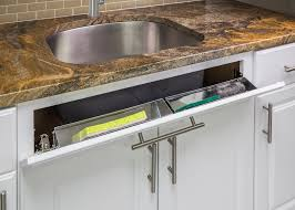 organize your kitchen in 11 minutes or less sink front tipout