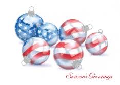 patriotic themed cards by 123print