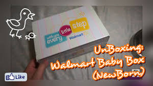 free wedding registry gifts unboxing walmart baby box newborn